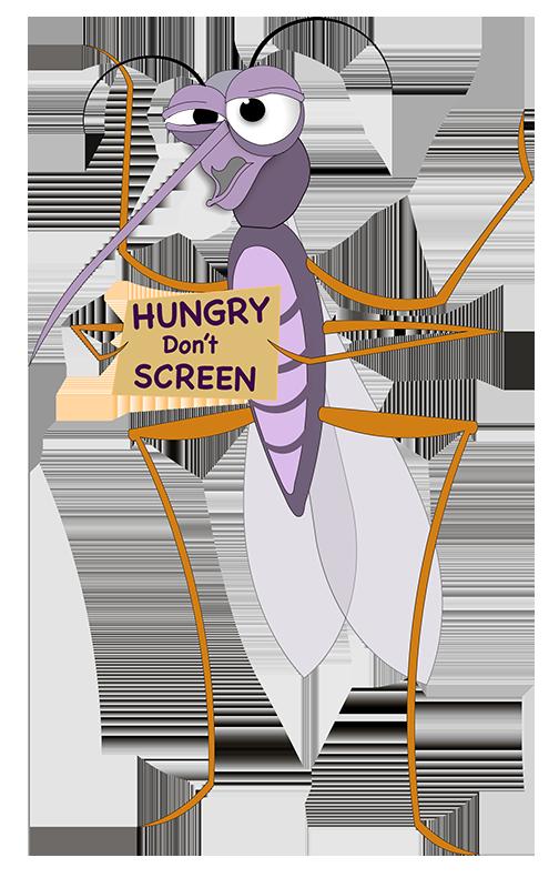 Skeeter Tropicana Screen Mascot