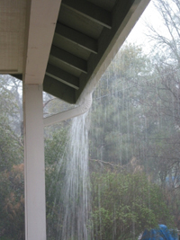 Pool Enclosure Gutters