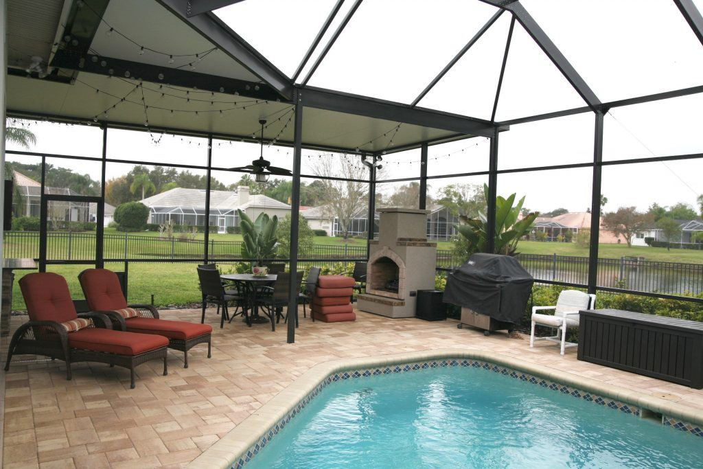 Sunrooms Tampa Fl Pool Enclosures Super Gutter